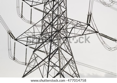 Pole high-voltage link.