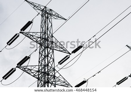 Pole of High Voltage Electrical