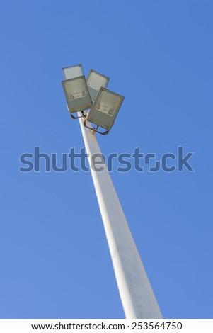 Pole pockets - stock photo