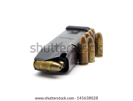 Police Bullets 9mm magazine