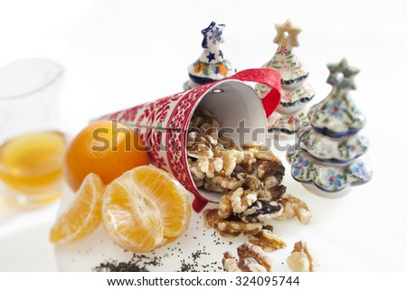 Polish Christmas Traditions - stock photo