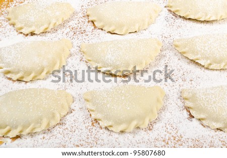 Polish pirogi - stock photo