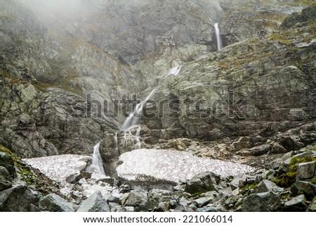Polish Tatra mountains  - stock photo