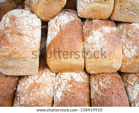 Polish wholemeal flour bread