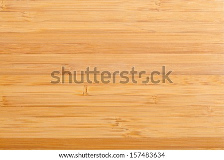 Polished bamboo planks close up texture background - stock photo