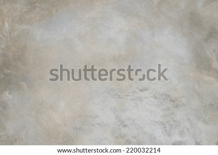 Polished grey new concrete texture - stock photo