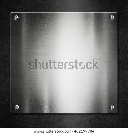 Polished Silver Metal background for industrial and technology design