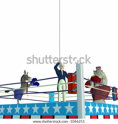 Political Party Sporting Event Boxing - stock photo