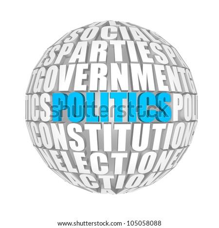 politics around us - stock photo