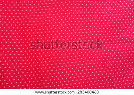Polka dot background - stock photo