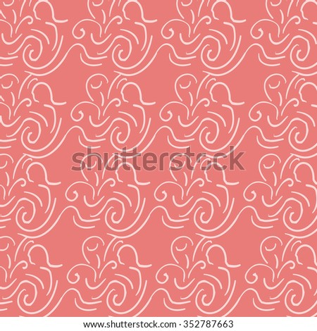 Polka wind on colorful background