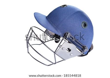Polo Helmet on isolated - stock photo