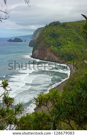 Pololu Valley, Northern tip of Big Island, Hawaii, USA