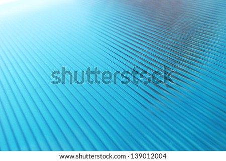 polycarbonate sheet - stock photo