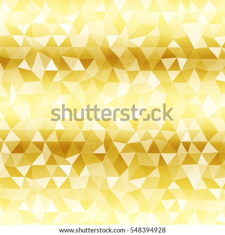 abstract geometric background gold color transparent stock vector  polygon background yellow gold color raster copy illustration square banner to implement your