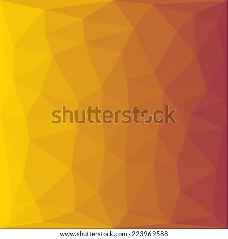 polygonal abstract background illustration design - stock photo