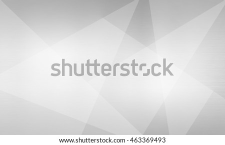 Polygonal light background, brushed metal texture, neutral gray surface