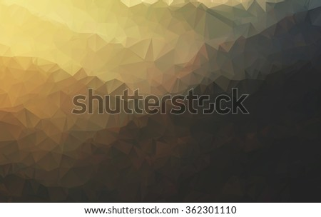 polygonal pattern - stock photo