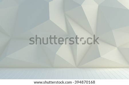 Polygons wall pastel color background.  - stock photo