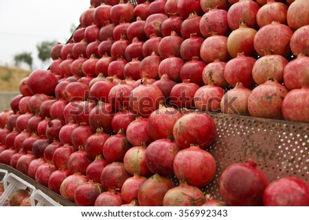 Pomegranates for sale