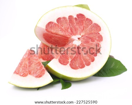Pomelo fruit        - stock photo