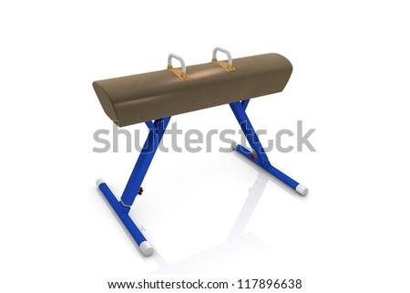 Pommel horse - stock photo