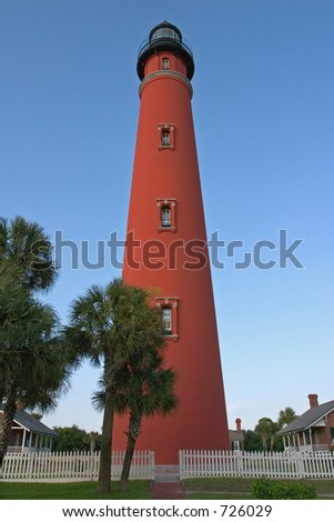 Ponce De Leon Lighthouse - stock photo