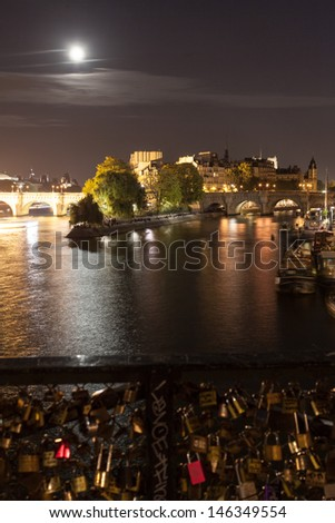 Pont des Arts - stock photo
