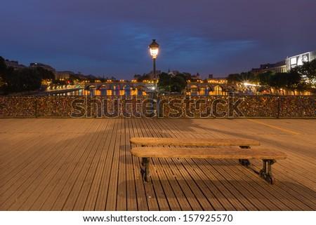 Pont des arts, Paris, France - stock photo