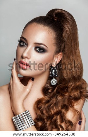 New Year Hairstyles For Long Hair : Ponytail hair stock images royalty free & vectors