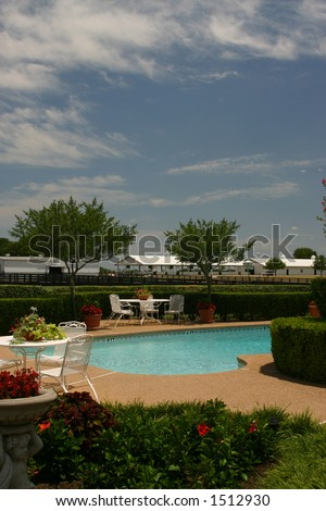 Pool of Southfork Ranch