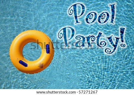 Pool Party Invitation Stock Images, Royalty-Free Images & Vectors