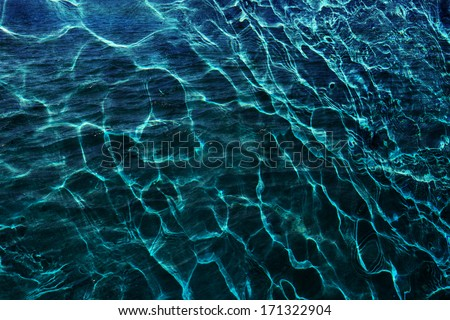Pool water texture - stock photo