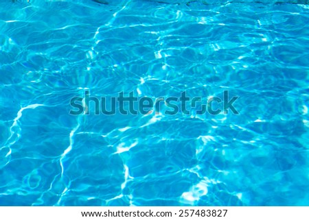 pool with sunny eflections,water waves