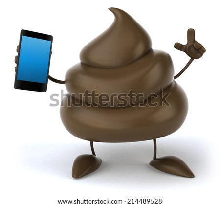 Poop - stock photo