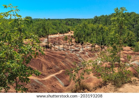 Soil erosion stock images royalty free images vectors for Soil is an example of