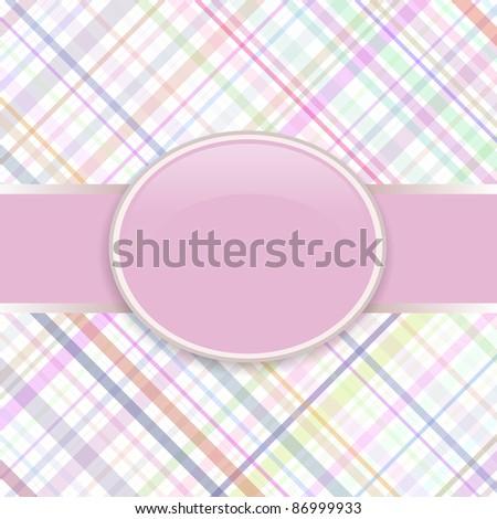 Pop art raster lines retro cover - stock photo