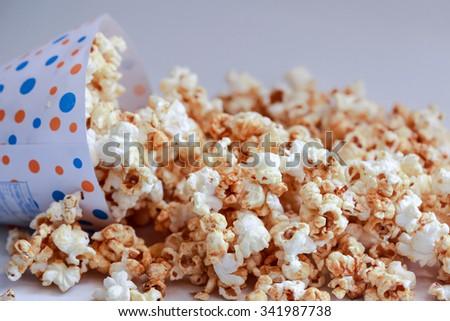 Pop corn maize  - stock photo
