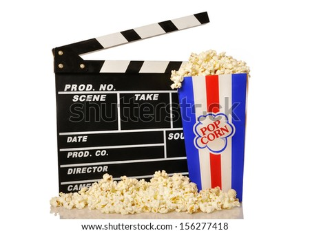 Pop corns and film