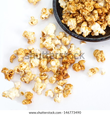 Popcorn pile - stock photo