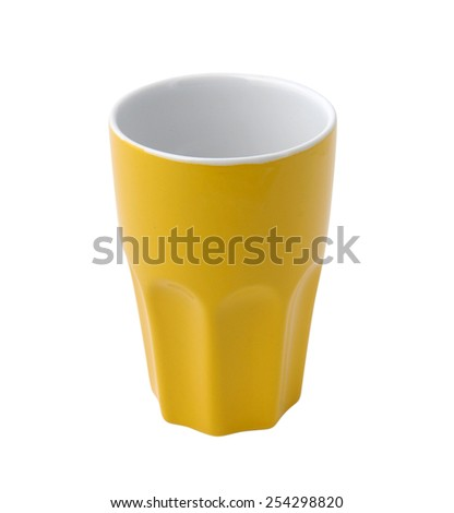 porcelain glass - stock photo