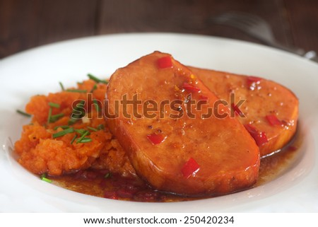 pork loin with five-spice - stock photo