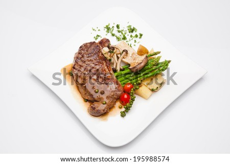 Pork Steak - stock photo