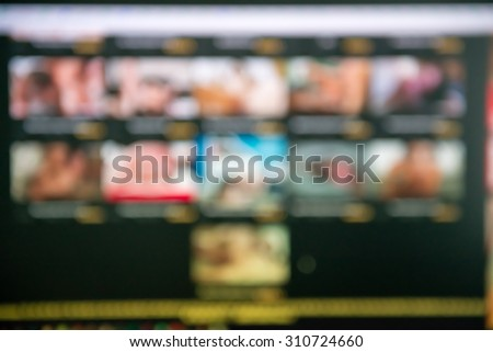 porn site theme creative abstract blur background with bokeh effect - stock photo