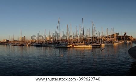 Port - stock photo