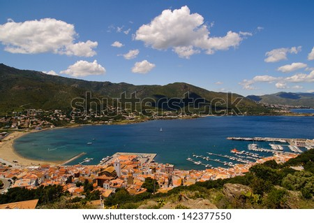 Port de la Selva in Costa Brava Girona Catalonia Spain