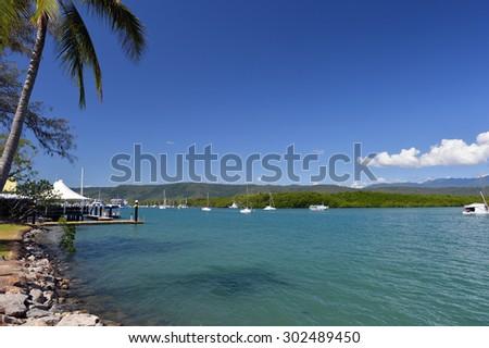Port Douglas, the Great Barrier Reef,, Queensland, Australia -1 - stock photo