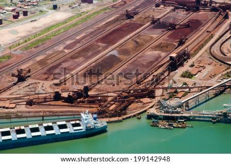 Port Hedland - Australia - stock photo