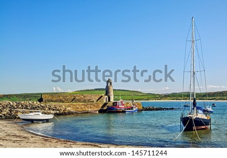Port Logan, Dumfries and Galloway - stock photo
