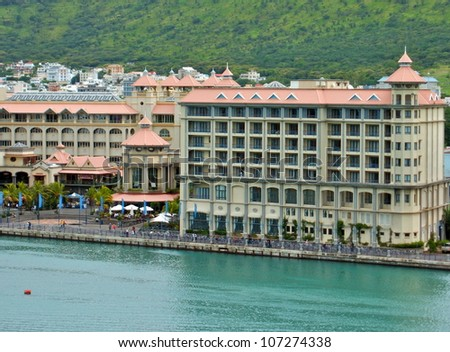 Port Louis, Mauritius - stock photo
